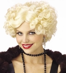 Women's Blonde Jazzy Wig