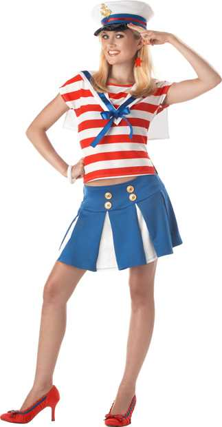 Teen Cruise Ship Cutie Costume