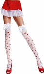 Valentine Heart Knee High Tights
