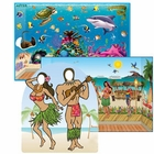 Hawaiian Luau Photo Backdrops