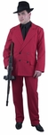 Men's Red Gangster Suit Costume