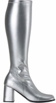 Adult Silver Go Go Boots