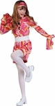 Child Swirl Go Go Girl Costume