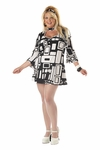 Plus Size Mod Girl Costume