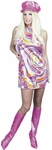 Swirl Go Go Dress Costume