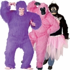 Colorful Gorilla Costumes
