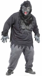Plus Size Easy Gorilla Costume