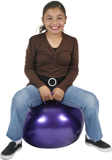"Hippity Hop 18"" Purple Hop Ball"