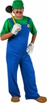 Adult Mario Brothers Luigi Costume