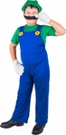 Child's Luigi Mario Brothers Costume