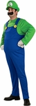 Adult Deluxe Super Mario Brothers Luigi Costume