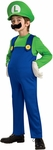 Child's Deluxe Super Mario Brothers Luigi Costume