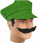 Luigi Costume Hat Set