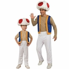 Super Mario Toad Costumes