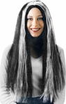 Adult Glow in the Dark Witch Wig