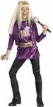 Child's Purple Hannah Montana Costume