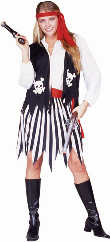 Adult Pirate Lady Costume