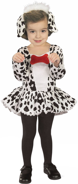 Toddler Dalmation Puppy Costume
