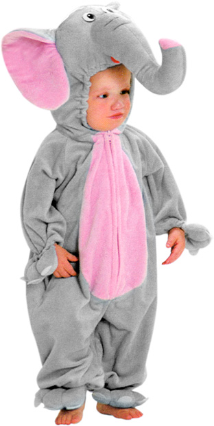 Adorable Child Elephant Costume