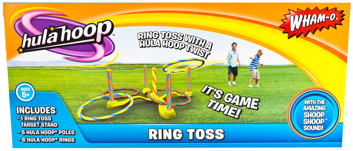 Hula Hoop Ring Toss Game