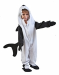 Child Black Fish Killer Whale Costume
