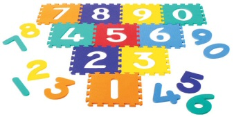 "Numbers 12"" Puzzle Mat Set"