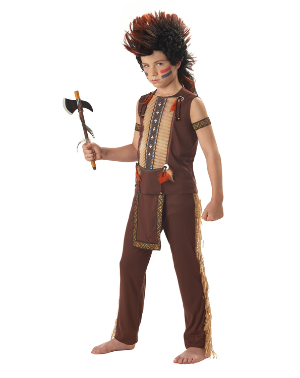 Child's Indian Warrior Chief Costume
