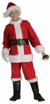 Child's Flannel Santa Suit Costume