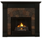 Black Underwood Gel Fireplace