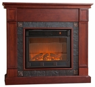 Cherry Tavola Electric Fireplace