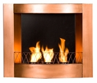 Copper Hallston Wall Mount Fireplace