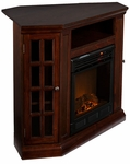 Espresso Akita Convertible Media Electric Fireplace