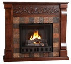 Espresso Calgary Gel Fireplace