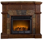 Espresso Cypress Electric Fireplace