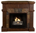 Espresso Cypress Gel Fireplace