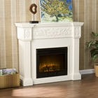 Ivory Huntington Electric Fireplace