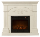 Ivory Salerno Electric Fireplace