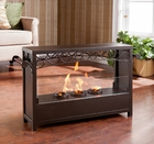 Saratoga Portable Indoor/Outdoor Gel Fireplace