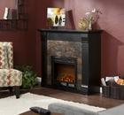 Black Underwood Electric Fireplace