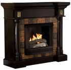 Black Weatherford Convertible Gel Fireplace