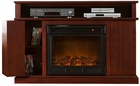 Cherry Fenton Media Electric Fireplace