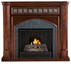 Espresso Belton Gel Fireplace
