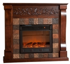 Espresso Calgary Electric Fireplace