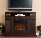 Espresso Clifton Media Electric Fireplace