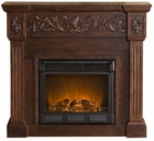 Espresso Huntington Electric Fireplace