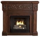 Espresso Huntington Gel Fireplace