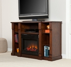 Espresso Murdock Media Electric Fireplace