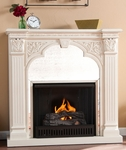 Ivory Andorra Gel Fireplace