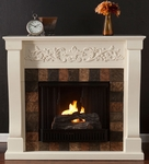 Ivory Calgary Gel Fireplace