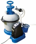 Intex 2650 GPH Filter Pump and Salt Water System